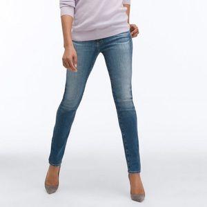 AG The Prima Mid Rise Cigarette Skinny Jeans 25